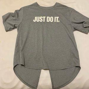 Gray Nike T Shirt